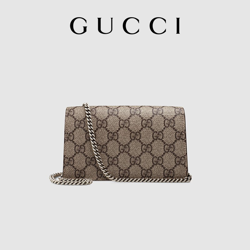 New pattern Gucci Dionysus Dionysus ชุดกระเป๋าสะพายซูเปอร์มินิ