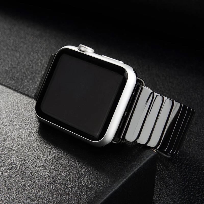 สายนาฬิกา# สาย Stainless Steel สำหรับAppleWatch มีให้เลือก 6 สี ใส่ได้ทั้ง 6 series SE/6/5/4/3/2/1 ขนาด 38/40 & 42/44mm