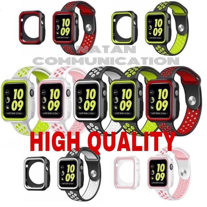 เคสนาฬิกาข้อมือสําหรับ Iwatch Strap Series 5 4 3 2 1 Apple Watch Nike+เคสกันชน Apple S5-44มม.