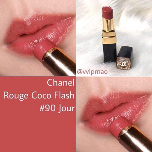90 Flash Coco Chanel Rouge อีกสีหายาก