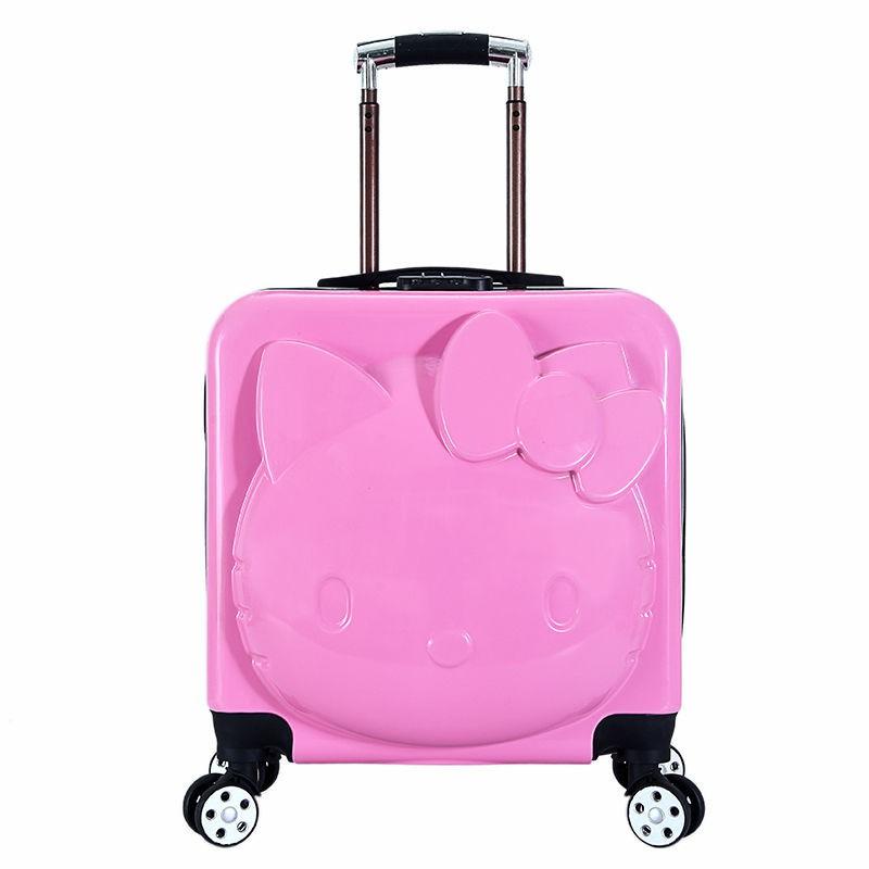 กระเป๋าเดินทางลายโลโก้ Wanxianglun 16 นิ้ว