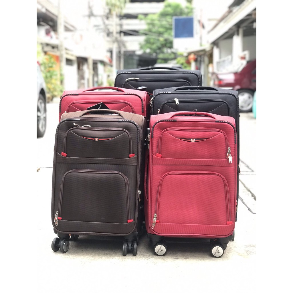 กระเป๋าเดินทางผ้า 24 นิ้ว