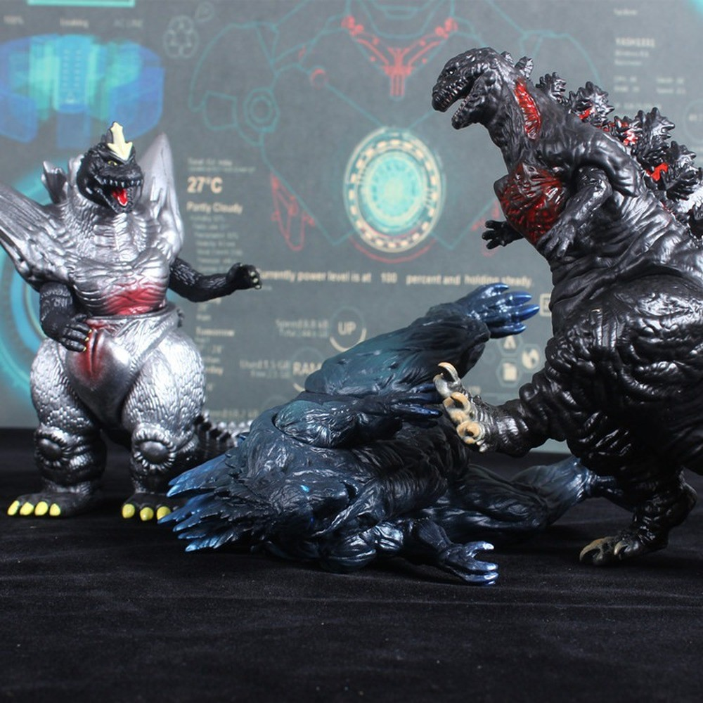 BANDAI Gojira Godzilla 2020 Movie Version Garage Kit Large Dinosaur Monster Movable 16cm PVC Action Figure Collectible M