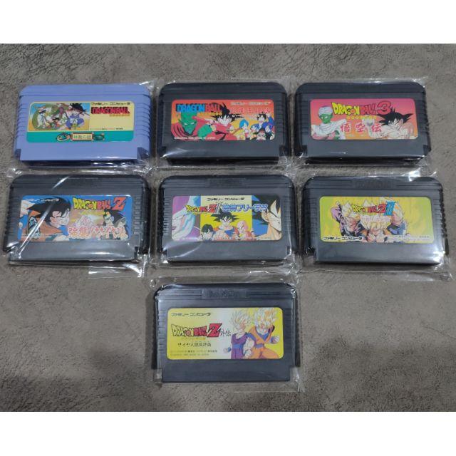 [[ มีบริการเก็บเงินปลายทาง ]] ตลับเกมแท้ JP ดราก้อนบอล dragonball ครบทุกภาค เครื่อง Family Computer Famicom FC NES
