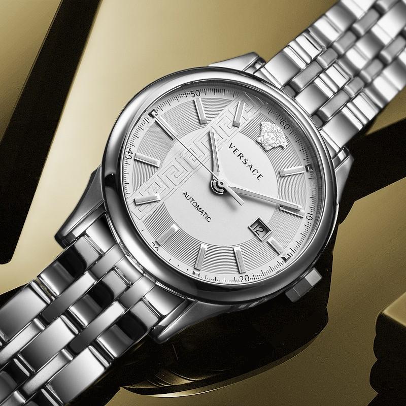 ❤≌สายนาฬิกา smartwatchสายนาฬิกา gshockสายนาฬิกา applewatchVERSACE Versaceกลไกจักรกลผู้ชายแท้ธุรกิจการพักผ่อนหย่อนใจสายเห