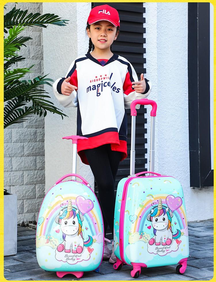 ✈で กระเป๋าเดินทางพกพา  กระเป๋ารถเข็นเดินทางกระเป๋าเดินทางเด็กกระเป๋าเดินทางสำหรับเด็กผู้ชายและเด็กผู้หญิงกระเป๋าเดินทางน
