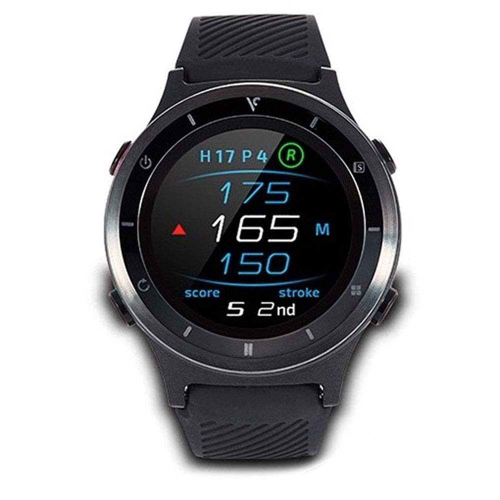 Kem Playing Cards Voice Caddie T6 Watch Type Golf Rangefinders English Language Mode Water Proof Design Automatic Scorecard English Manual Provided
