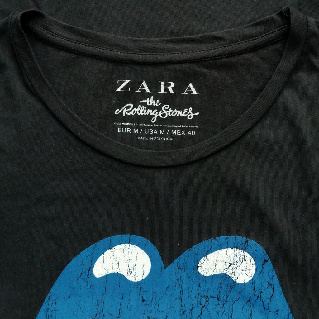 เสื้อยืด ZARA THE ROLLING STONES