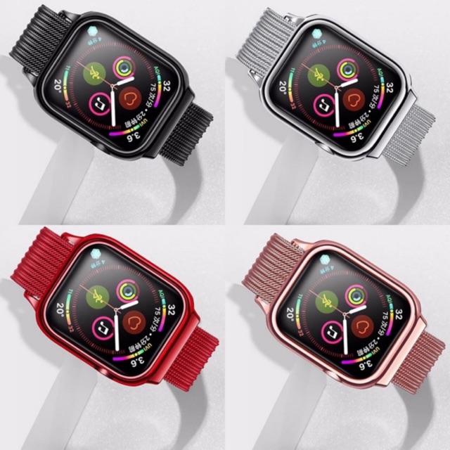 🔥USAMS ชุดสายนาฬิกาแม่เหล็กMilanese 40/44MMสำหรับ Applewatch series 4/5/6 ของแท้💯