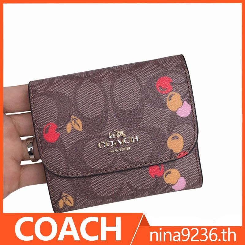 coach กระเป๋าสตางค์ 31939 / กระเป๋าสตางค์ผู้หญิง กระเป๋าสตางค์ผู้หญิง กระเป๋าสตางค์ใบสั้น กระเป๋าบัตร