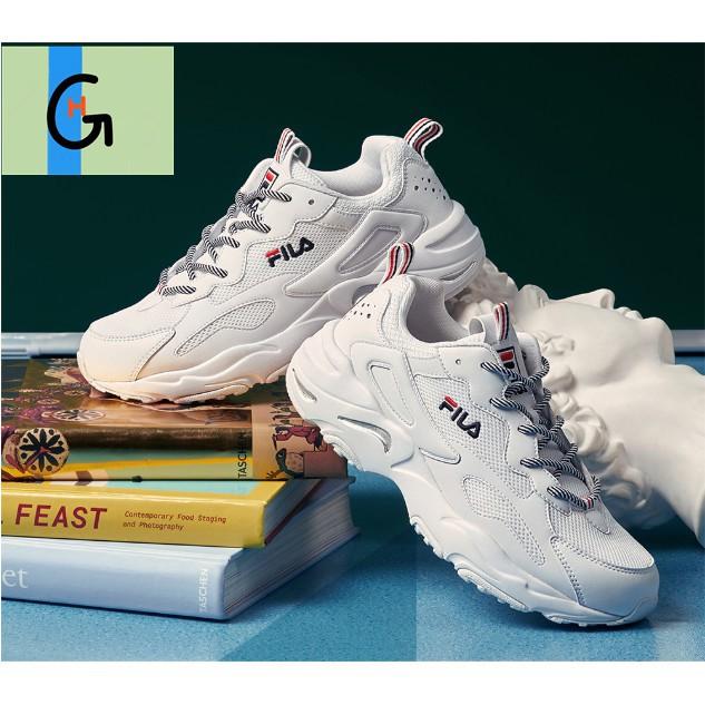 FILA Fila รองเท้าวิ่งคู่รองเท้าวิ่งย้อนยุค 2020 รองเท้ากีฬาลำลองรองเท้าเก่ารองเท้าผู้หญิงรองเท้าผู้ชาย