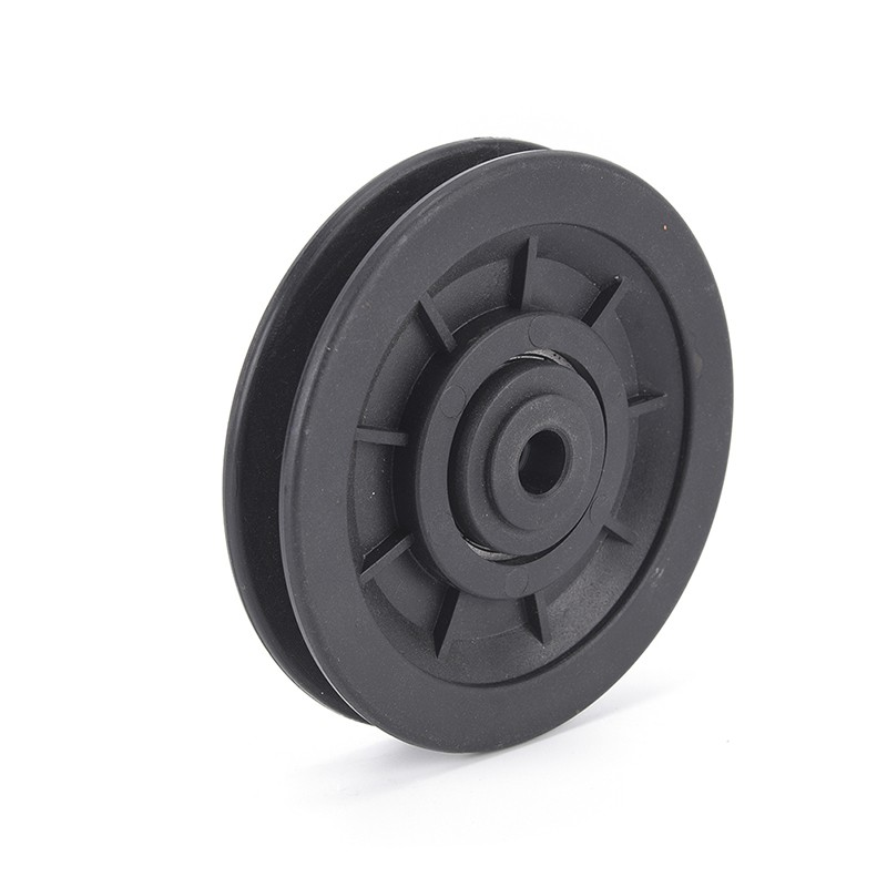 10.5*90mm black bearing pulley wheel cable gym equipment part wearproof