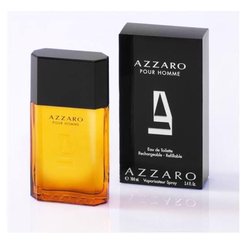 AZZARO Pour Homme Eau de Toilette 100ml ของแท้100% พร้อมกล่องชีล
