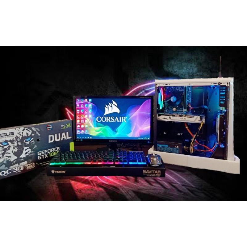 คอมพิวเตอร์มือสอง เล่นเกมส์ แรงๆ i5-2400 ram8gb vga GTX 1060 3GB