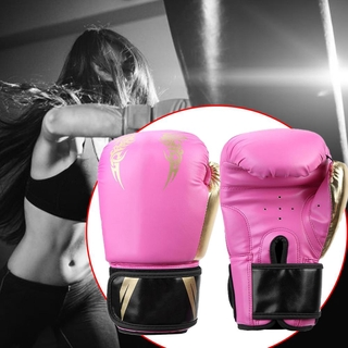 High quality gold adult kick boxing gloves Thai boxing gloves fighting boxing ring fitness equipment training boxing acc