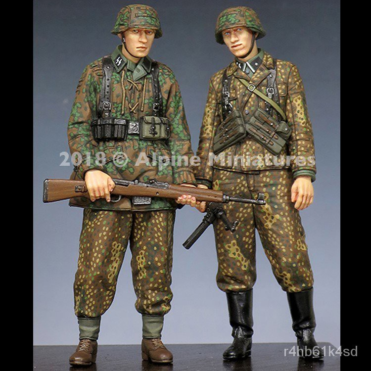 GK Garage Resin Figure 1/35 Soldier Army Figure Unainted Model Kit#¥%¥# cVMs