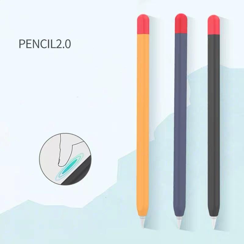 เคสไอโฟน!เคสซิลิโคน iphone! พร้อมส่งจากไทย!เคสสำหรับ Apple Pencil 1&2 Case เคสปากกาซิลิโคน ดินสอ ปลอกปากกาซิลิโคน