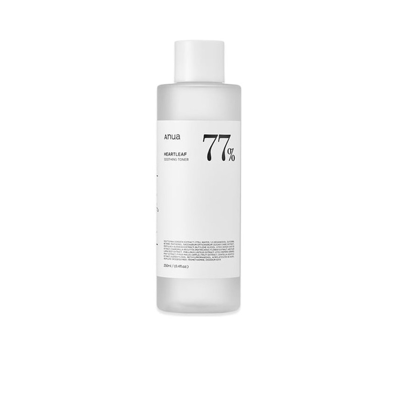 (พร้อมส่ง)ANUA Heartleaf 77% Soothing Toner 250ml.