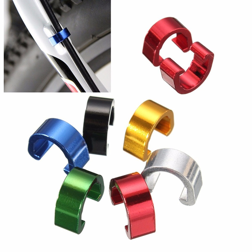 Bicycle C-Clips Buckle Cable Guides Brake Hose Housing MTB BMX Road Mountain