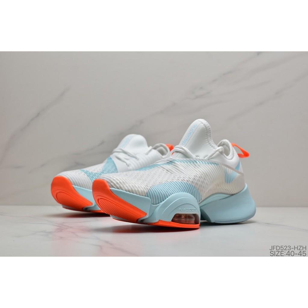 Nike Air Zoom Superrep Air Cushion Marathon Series รองเท้าผ้าใบลําลองสําหรับสตรีน้ําหนักเบาเหมาะกับการวิ่ง
