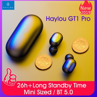 Review Original Xiaomi Haylou GT1/GT1Pro TWS Fingerprint Touch Bluetooth Earphones HD Stereo Wireless Headphones Gaming Headset