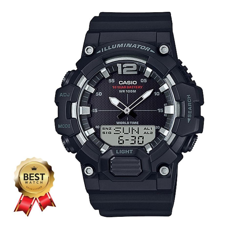 แท้แน่นอน 100% คุ้มค่าที่สุดกับนาฬิกา Casio  HDC-700-1AVDF อุปกรณ์ครบทุกอย่างพร้อมใบรับประกัน CMG ประหนึ่งซื้อจากห้าง