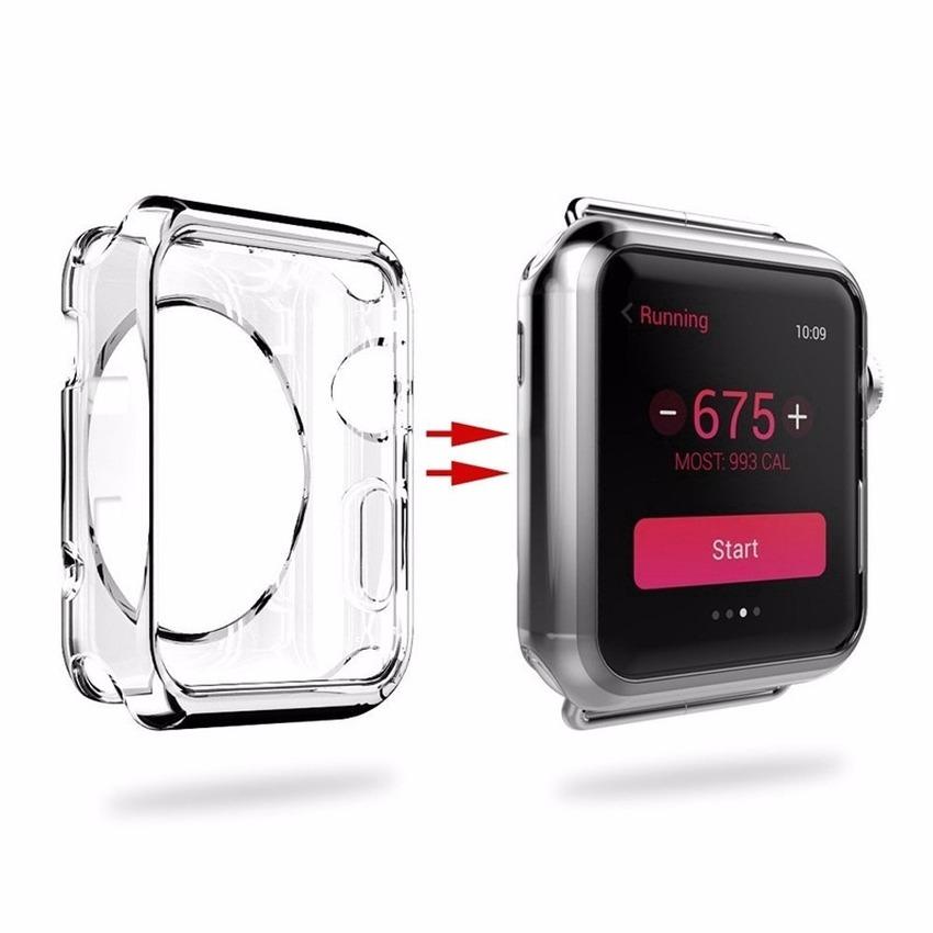 เคสนาฬิกาข้อมือ Apple Watch 38 มม . 42 มม . 40 มม . 44 มม . สําหรับ Iwatch Series Se 6 5 4 3 2 1