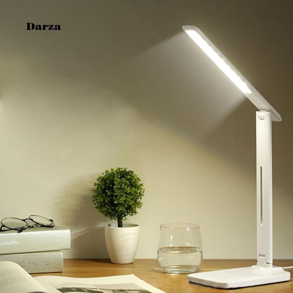 โคมไฟอ่านหนังสือ LED 2000 mAh แบบพับได้