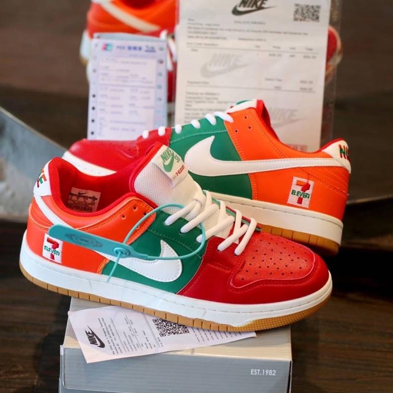 รองเท้าผ้าใบ Nike Sb Dunk Low 7 Eleven Eleven 7 11 สําหรับผู้ชาย
