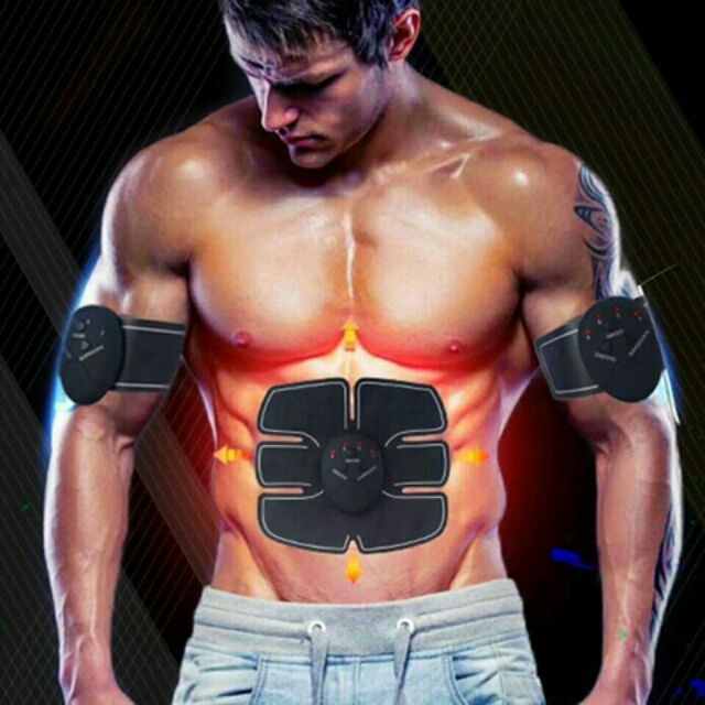 Magic EMS Muscle Trainer ABS Stimulator Home Body Exercise  Electric Massager