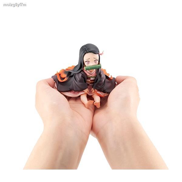 จัดส่งที่รวดเร็ว✌◕❏Demon Slayer Kimetsu no Yaiba Nezuko Figure Model Toy Anime Action