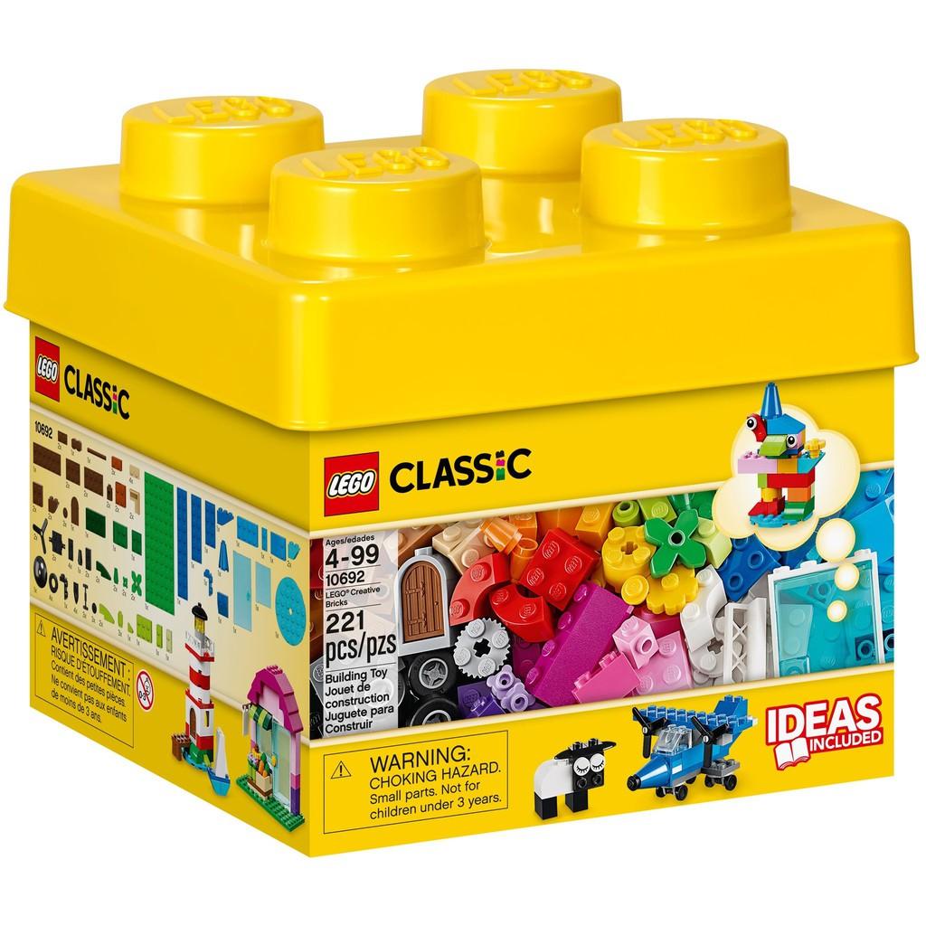 Learning Toy New LEGO Classic Creative Bricks 10692 Building Blocks