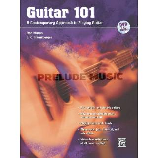 Guitar 101 A Contemporary Approach to Playing Guitar(AF31829)