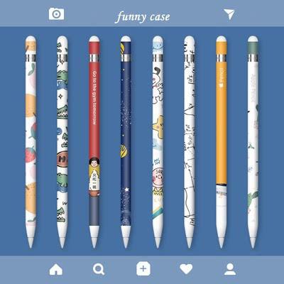 ☾ツปากกาเขียนด้วยมือ[สครับ] ปากกาแอปเปิ้ล applepencil รุ่น1รุ่น2 2ป้องกันการลื่น ipadpencil penip pencil pencil pencil pe
