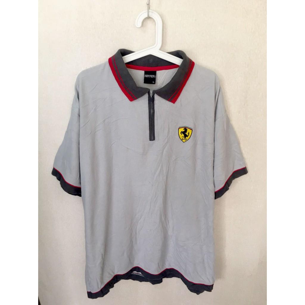 Vintage Shirt เสื้อ FERRARI