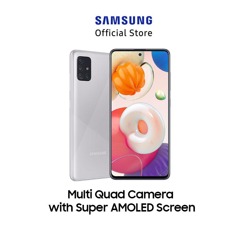 Samsung Galaxy A51 8GB + 256 GB Haze Crush Silver