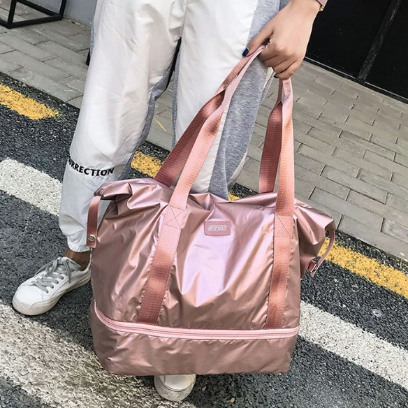 กระเป๋าเดินทางแบบถือ กระเป๋าเดินทาง มี 2 ชั้น (9B32)