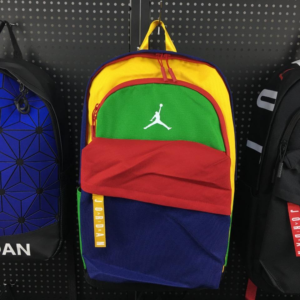 ของแท้ Nike Air Jordan Backpack School Bag elemental lbr เดินทาง นักเรียน แบรนด์ กันน้ํา กีฬา กระเป๋าเป้