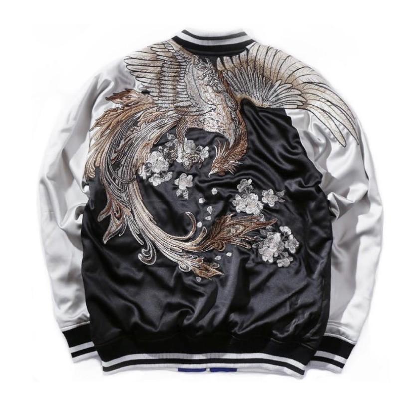 ด่วน!!!!Phoenix Sukajan Souvenir Jacket.             [การันตีคุณภาพ100%]