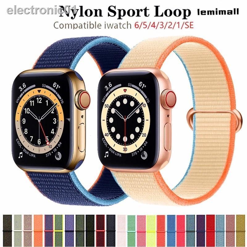 ✽☬ↂพร้อมส่งจากไทย!สายนาฬิกาข้อมือ สำหรับ AppleWatch Se 42 มม. 38 40 44 Series6 5 4 3 2 1 สาย