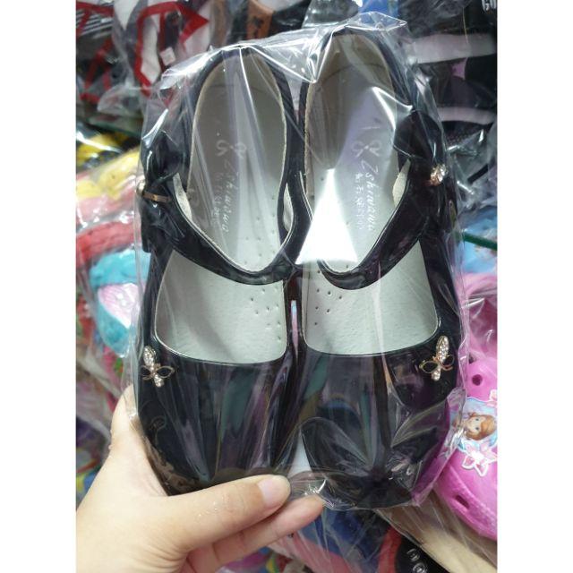 รองเท้าคัชชูแฟชั่นเด็กสีดำ(31-34)