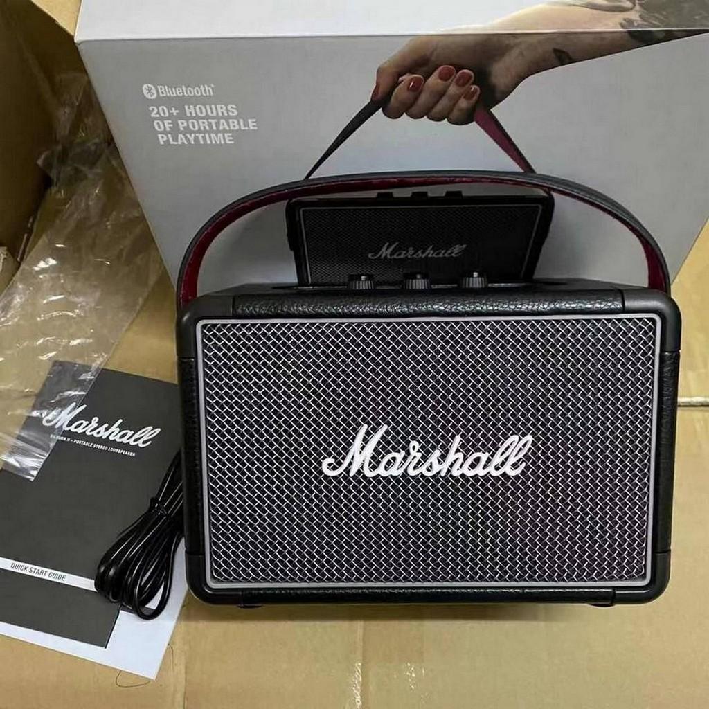 Marshall Kilburn II ลำโพงบลูทูธ - Marshall -Black (รับประกัน 1 ปี) Pcx9