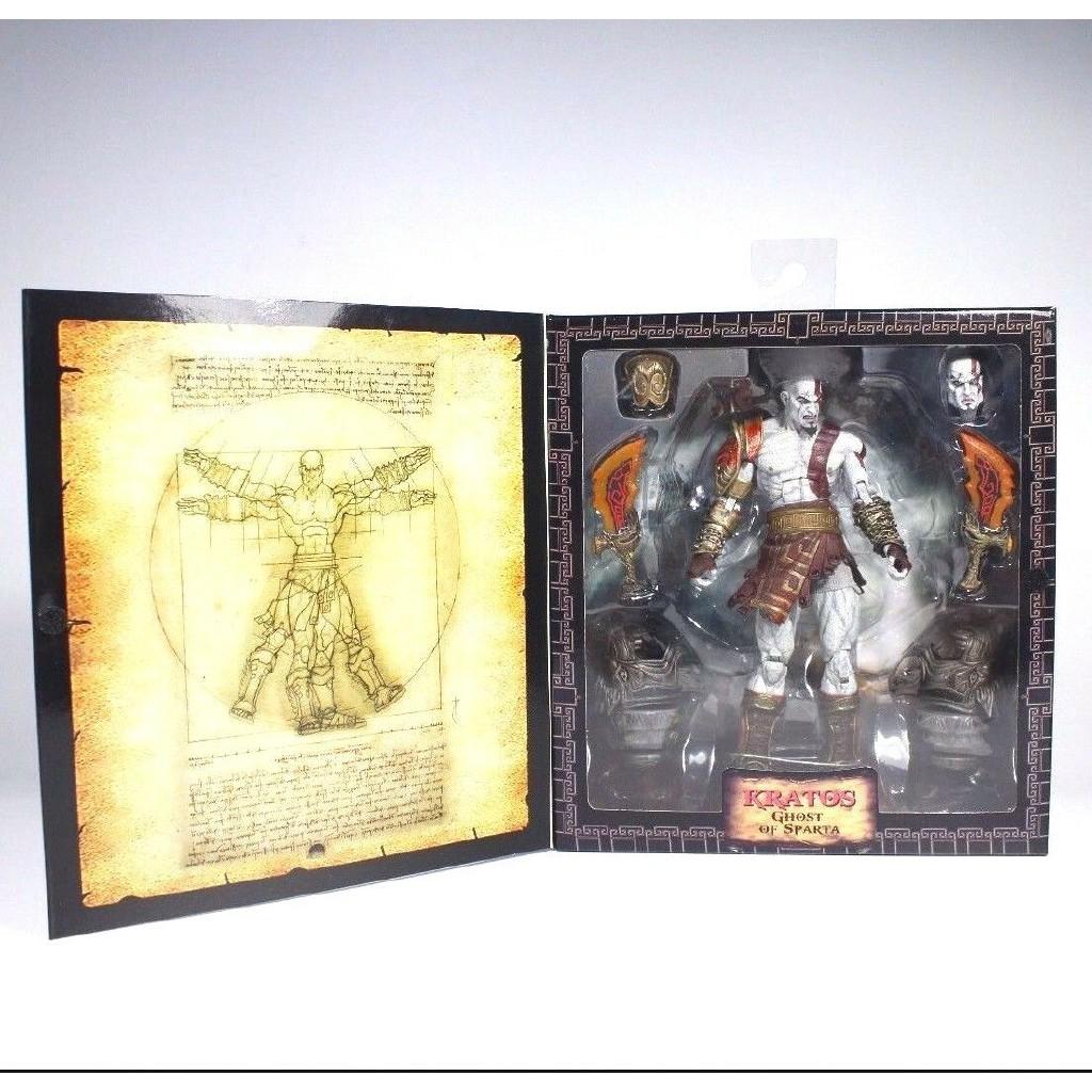 7″ Neca God of War 3 Collector Toy Ultimate Kratos Action Figure FDSEGV model