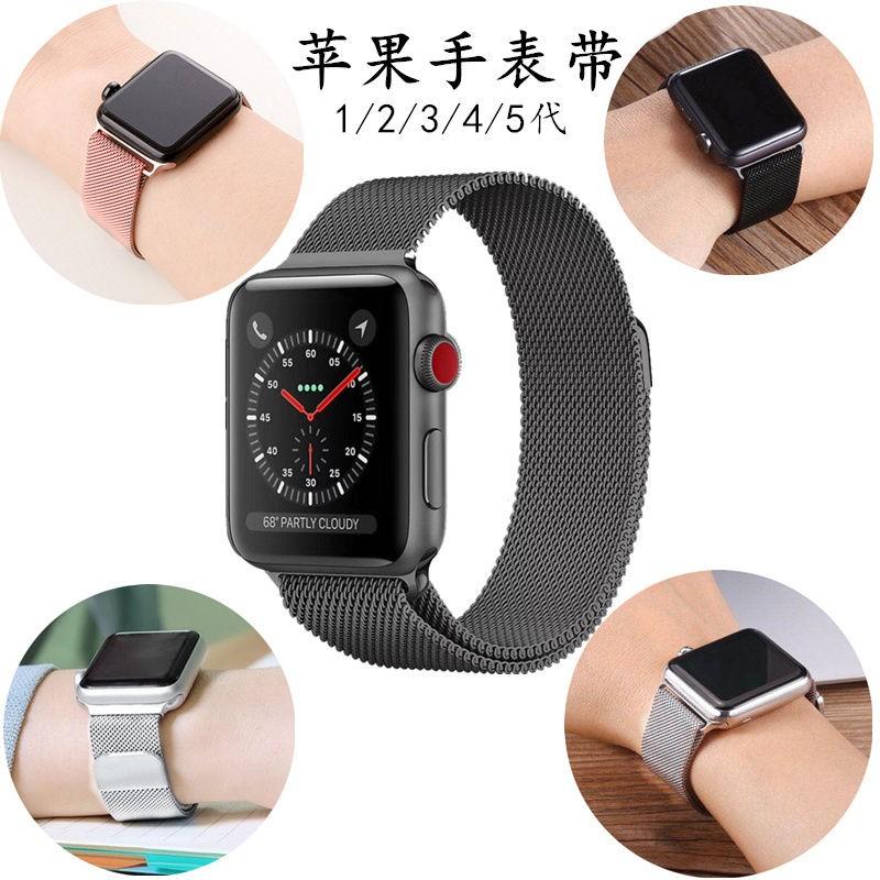 สายนาฬิกาข้อมือสแตนเลสสําหรับ Applewatch 5 Applewatch 4/3/2/1 Generation