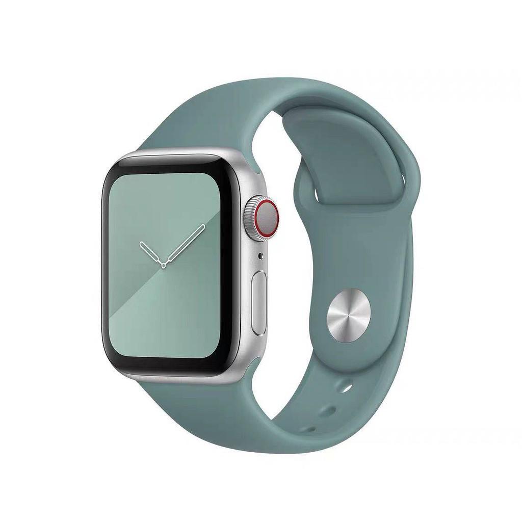 💥 สาย applewatch 🔥 iwatch6 สายนาฬิกา Apple Applewatch4 / 3/2 รุ่น Liquid สาย 40/44 มม