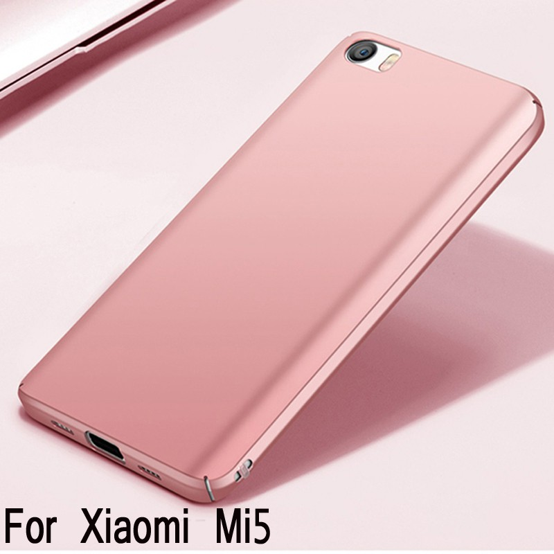 Ultra Thin เคสสำหรับ Xiaomi MI5 Fashion Matte Silky Hard PC
