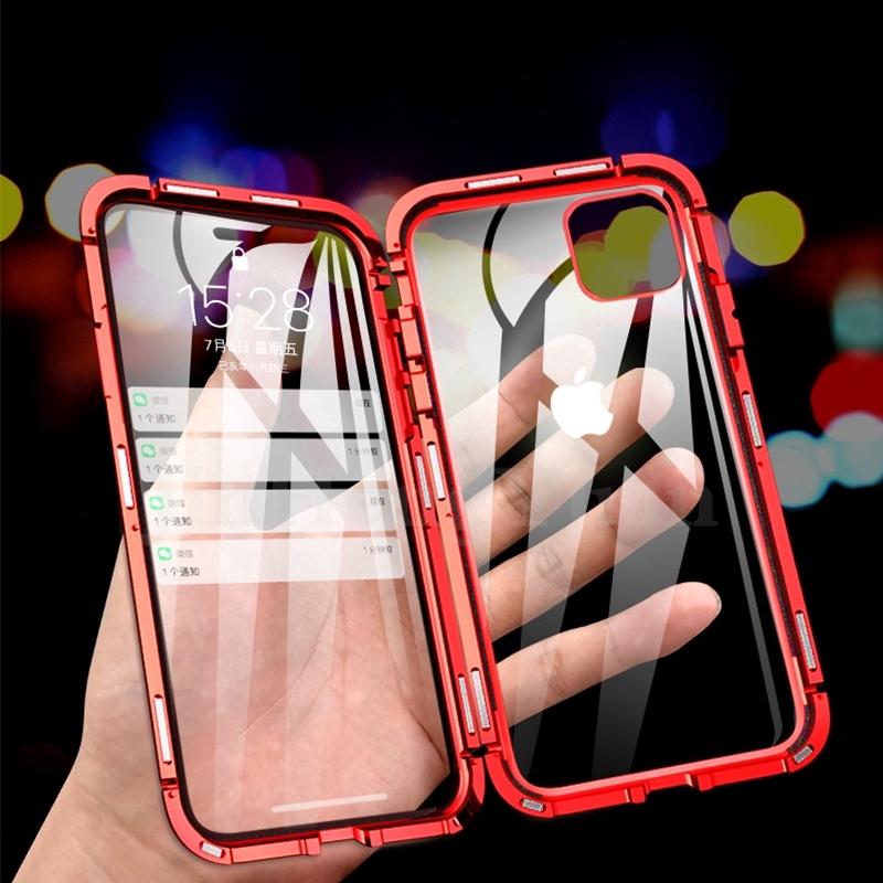 เคสโทรศัพท์มือถือแบบสองด้านสําหรับ Iphone 6 7 8 Plus X Xs Max Xr 11 11 Pro Max