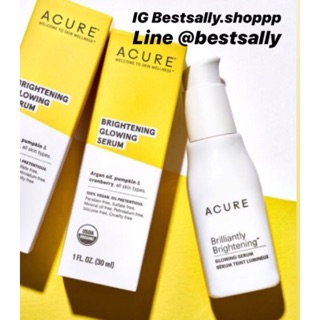 Review Acure Brilliantly Brightening Glowing Serum 30 ml