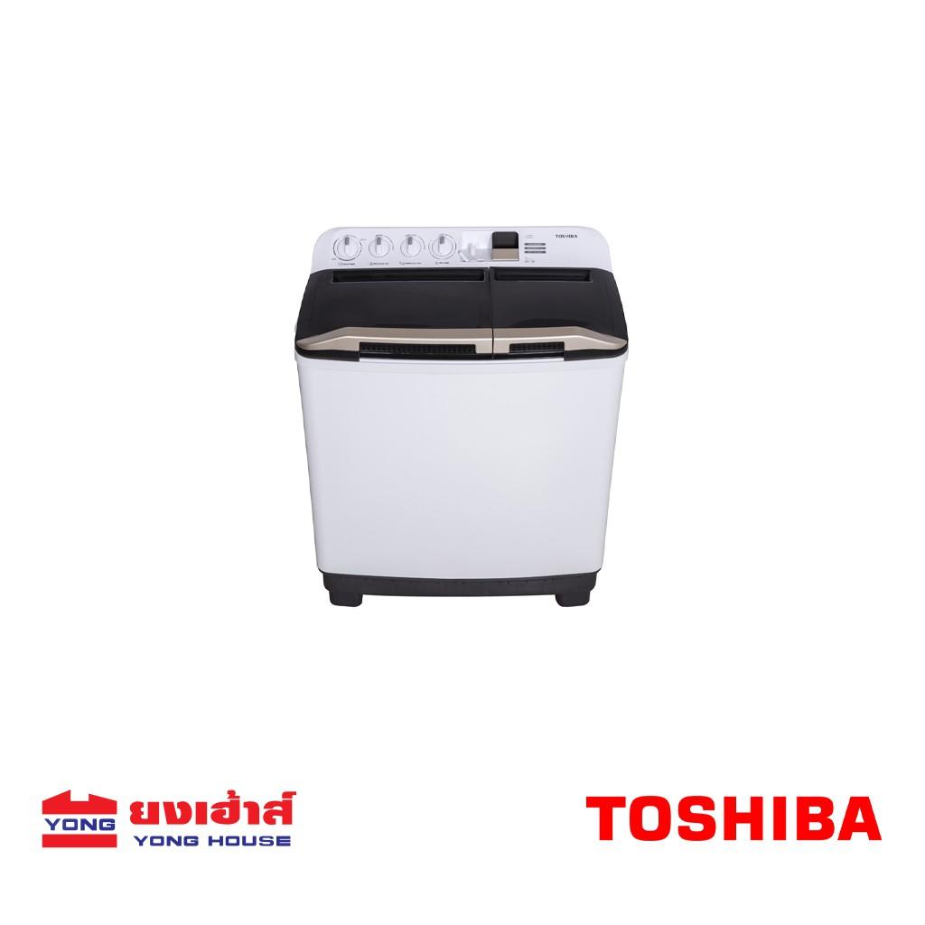 Toshiba เครื่องซักผ้า 2 ถัง ขนาด 15 Kg. รุ่น VH-J160WT สีขาว