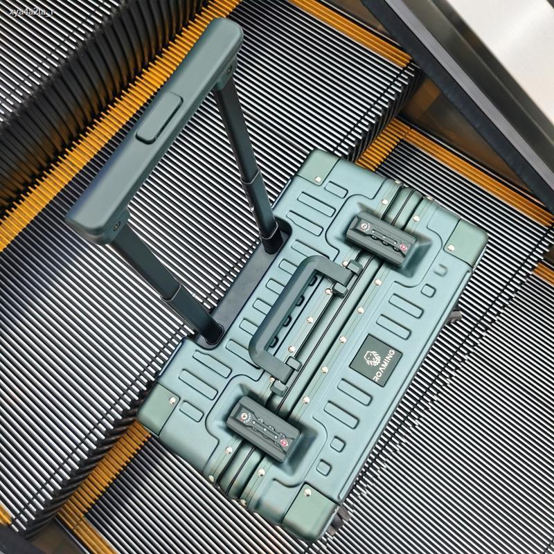 กระโปรงหลังรถ۞♕กระเป๋าเดินทางใบเล็ก ห้องโดยสารขนาด 18 นิ้ว โครงรถเข็นโครงอลูมิเนียมขนาดเล็ก กระเป๋าเดินทาง 16 ใบ น้ำหนัก